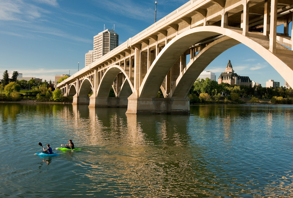 Saskatchewan River Kayaking