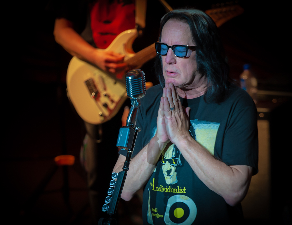Athenaeum Theatre TODD RUNDGREN: THE INDIVIDUALIST TOUR