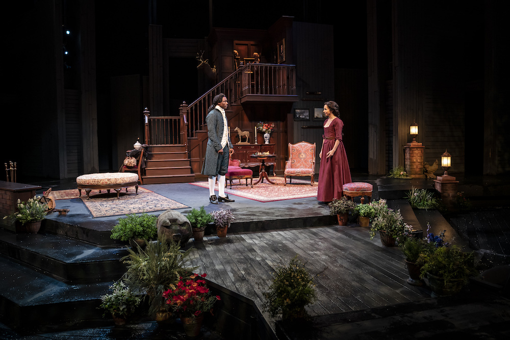American Players Theatre SHE STOOPS TO CONQUER