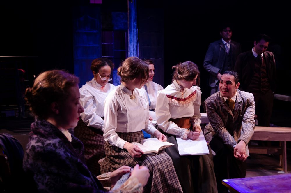 Promethean Ensemble Theatre BLUE STOCKINGS