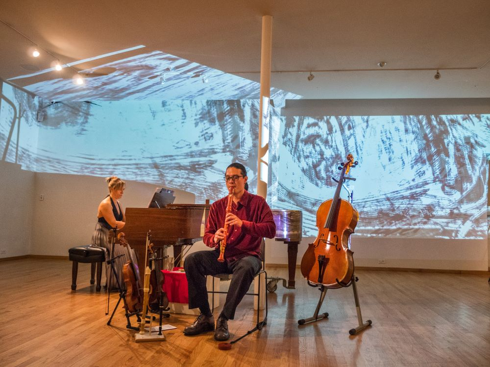 Ukrainian Institute of Modern Art PICTURES AT AN AEXHIBITION MULTI-SENSORY PERFORMANCE