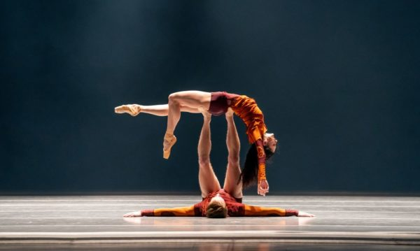 Joffrey Ballet THE TIMES ARE RACING