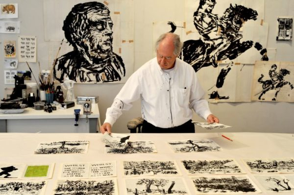 Goodman Gallery WILLIAM KENTRIDGE IN HIS STUDIO