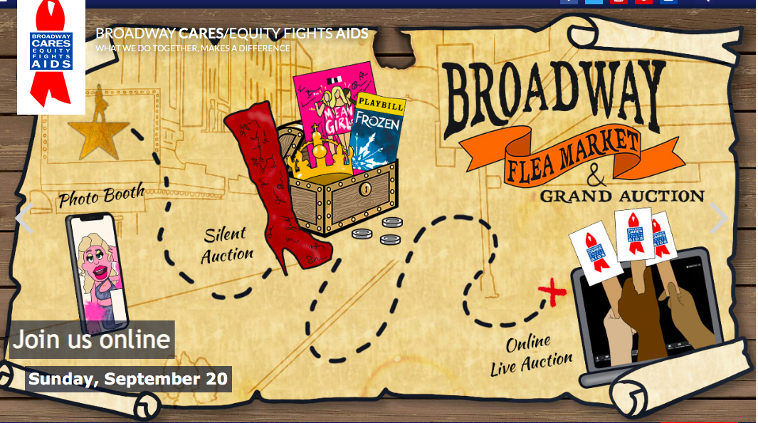 Broadway Cares BROADWAY FLEA MARKET AND GRAND AUCTION